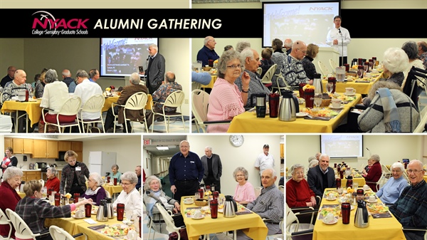 Nyack College Alumni Gather at Chapel Pointe