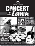 Free Concert on the Lawn & Fundraiser