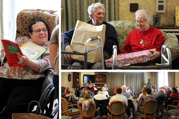 Christmas Gift Parties Spread Smiles
